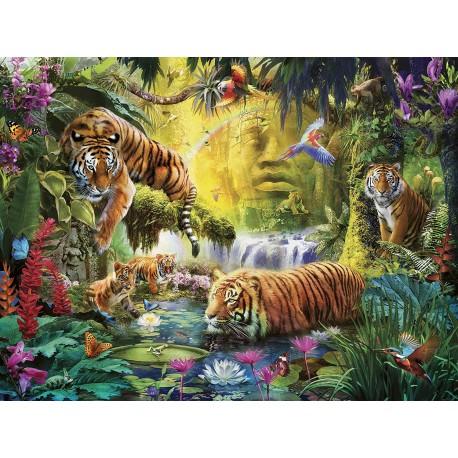 Puzzle 1500 Tranguil Tigers