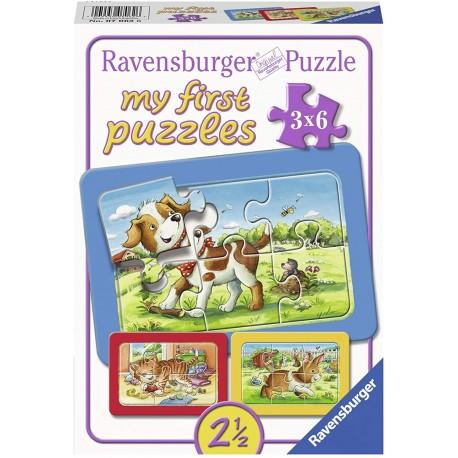My Animal Friends Children's Puzzle 3x6