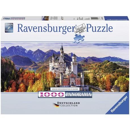 Puzzle 1000 Neuschwanstein Castle in Bavaria