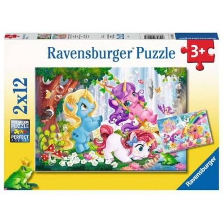 Puzzle 2x12 Unicorns At Play