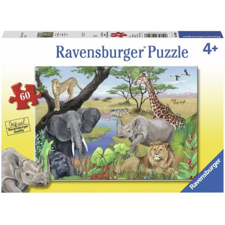 Puzzle 60 Safari Animals
