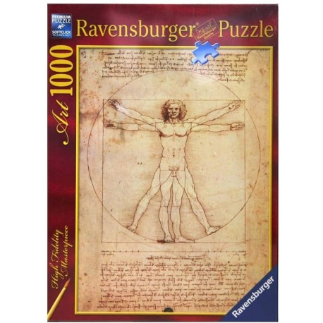 Puzzle Art 1000 Vitruvian Man