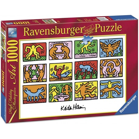 Puzzle Art 1000  Keith Haring: Retrospective