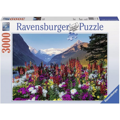 Puzzzle 3000 Flowery Mountain