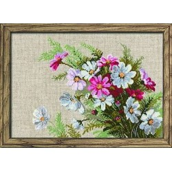 Cosmos - Cross Stitch Kit from RIOLIS Ref. no.:583