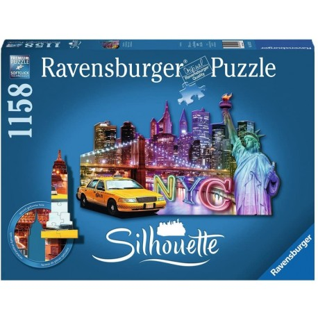 Puzzle 1158 Silhouette New York