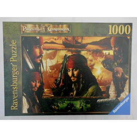Puzzle 1000 Caribbean Pirates