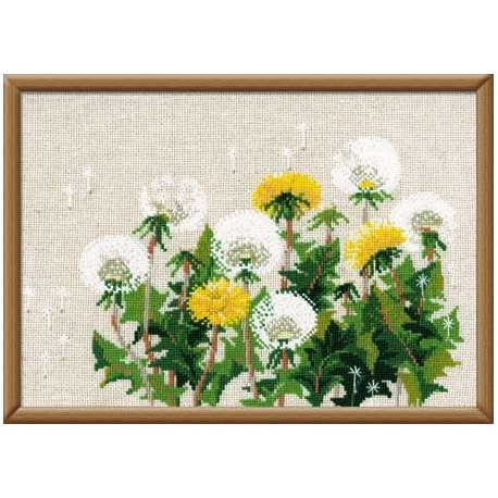 Dandelions - Cross Stitch Kit from RIOLIS Ref. no.:807