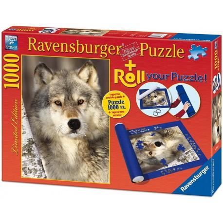 Puzzle 1000 Wolf + Puzzle Mat