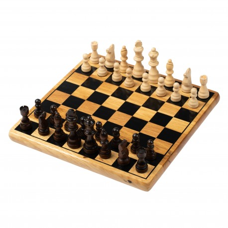 Wooden Chess Set with Board