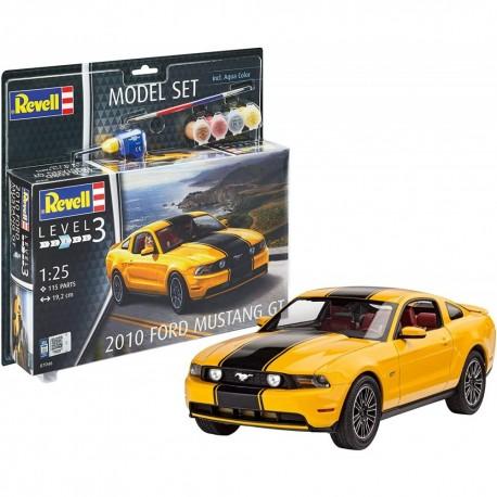 Model Set 2010 Ford Mustang - Plastic Modelling Kit By Revell