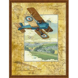 Above the Clouds - Cross Stitch Kit from RIOLIS Ref. no.:0036 PT