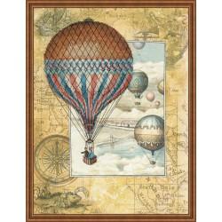 Around the World - Cross Stitch Kit from RIOLIS Ref. no.:0033 PT