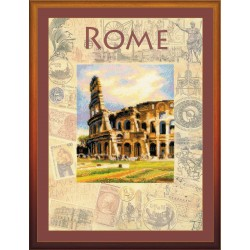 Cities of the World. Rome - Cross Stitch Kit from RIOLIS Ref. no.:0026 PT