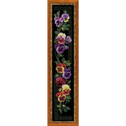 Pansy - Cross Stitch Kit from RIOLIS Ref. no.:100/011