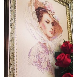 Lilac Evening - Cross Stitch Kit from RIOLIS Ref. no.:100/028
