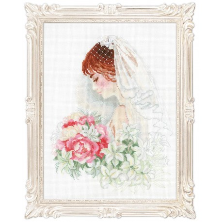 Bride - Cross Stitch Kit from RIOLIS Ref. no.:100/050