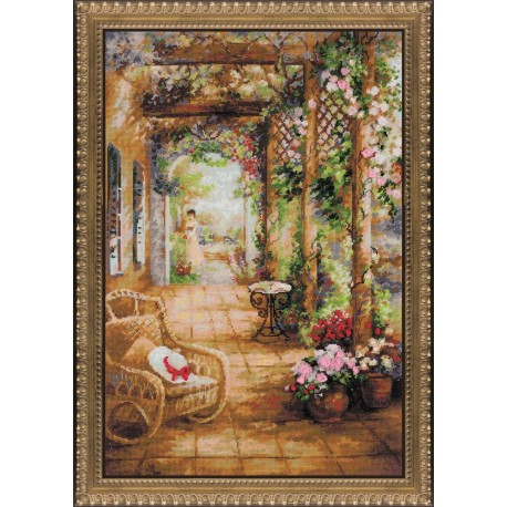 A Secret Romance - Cross Stitch Kit from RIOLIS Ref. no.:100/043