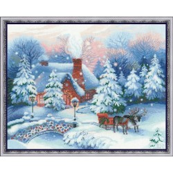 Cristmas Eve - Cross Stitch Kit from RIOLIS Ref. no.:100/041