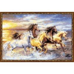 In the Sunset - Cross Stitch Kit from RIOLIS Ref. no.:100/038
