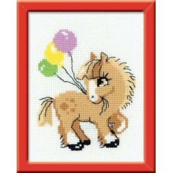 Pony crony - Cross Stitch Kit from RIOLIS Ref. no.:HB093