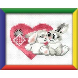You are my sweetheart - Cross Stitch Kit from RIOLIS Ref. no.:HB016