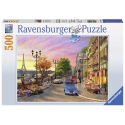 "Ravensburger dėlionė ""A Paris Evening"" (500 dalių)"