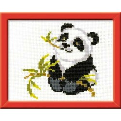 Panda - Cross Stitch Kit from RIOLIS Ref. no.:HB061