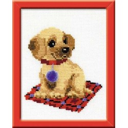 Puppy - Cross Stitch Kit from RIOLIS Ref. no.:HB067