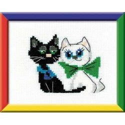 Happy Pair - Cross Stitch Kit from RIOLIS Ref. no.:HB074