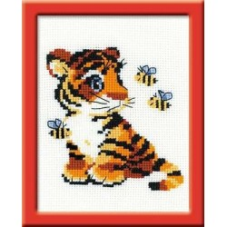 Stripies - Cross Stitch Kit from RIOLIS Ref. no.:HB092
