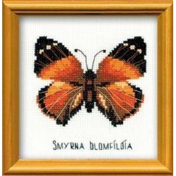 Nymphalidae Butterfly - Cross Stitch Kit from RIOLIS Ref. no.:HB094