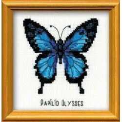 Ulysses Butterfly - Cross Stitch Kit from RIOLIS Ref. no.:HB095