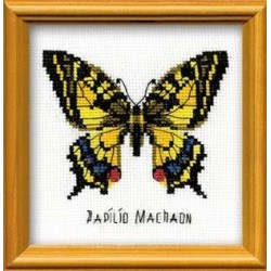 Swallowtail Butterfly - Cross Stitch Kit from RIOLIS Ref. no.:HB096