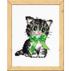 Bow - Cross Stitch Kit from RIOLIS Ref. no.:HB104