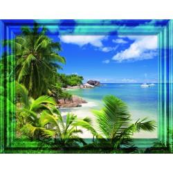 """Ravensburger dėlionė """"Frame Puzzle 500 South Seas Flair"""" (500 dalių)"""