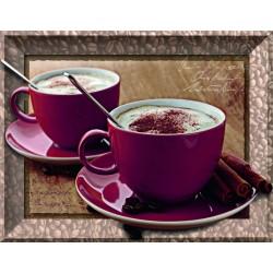 "Ravensburger dėlionė ""Frame Puzzle 500 Time for Cappuccino"""