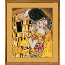 The Kiss - Cross Stitch Kit from RIOLIS Ref. no.:1170