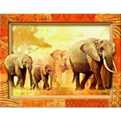 "Ravensburger dėlionė ""Frame Puzzle 500 African Giants"""
