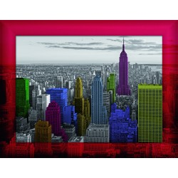"Ravensburger dėlionė ""Frame Puzzle 500 New York Colours"""