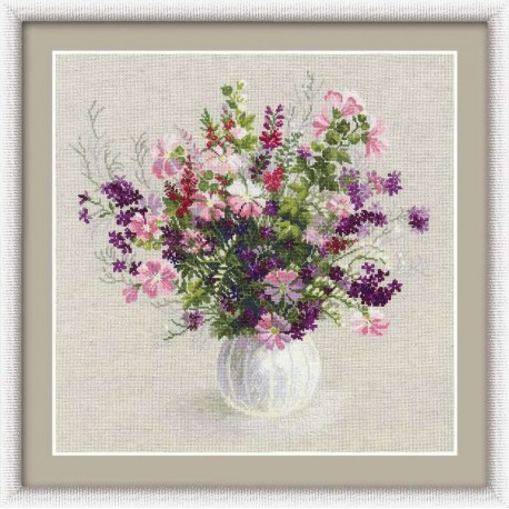 Summer Bouquet - Cross Stitch Kit from RIOLIS Ref. no.:1010