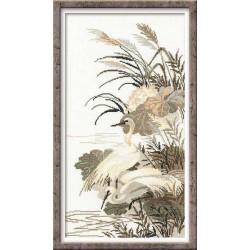 """RIOLIS – Create It Yourself – Siuvinėjimo rinkinys """"Garniai"""" 928 (26x48 cm)"""