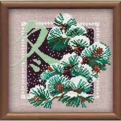 """RIOLIS – Create It Yourself – Siuvinėjimo rinkinys """"Žiema"""" 814 (20x20 cm)"""
