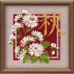 """RIOLIS – Create It Yourself – Siuvinėjimo rinkinys """"Ruduo"""" 813 (20x20 cm)"""