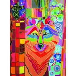 "Ravensburger dėlionė ""Puzzle 500 Mystical Wolf"""