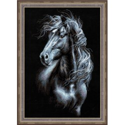 Breeze Through Mane - Cross Stitch Kit from RIOLIS Ref. no.:1494