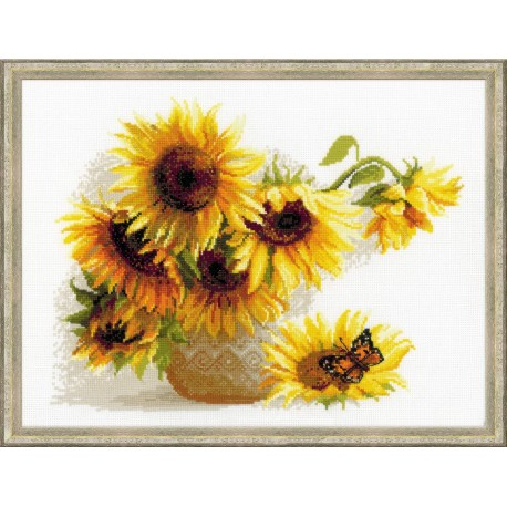 Hot Summer - Cross Stitch Kit from RIOLIS Ref. no.:1488