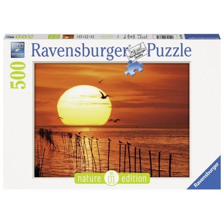 """Ravensburger dėlionė """"Puzzle 500 Magical Sunset"""""""