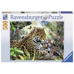 "Ravensburger dėlionė ""Puzzle 500 Baby Jaguar"""