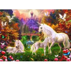 "Ravensburger dėlionė ""Puzzle 500 Magical Unicorns"""